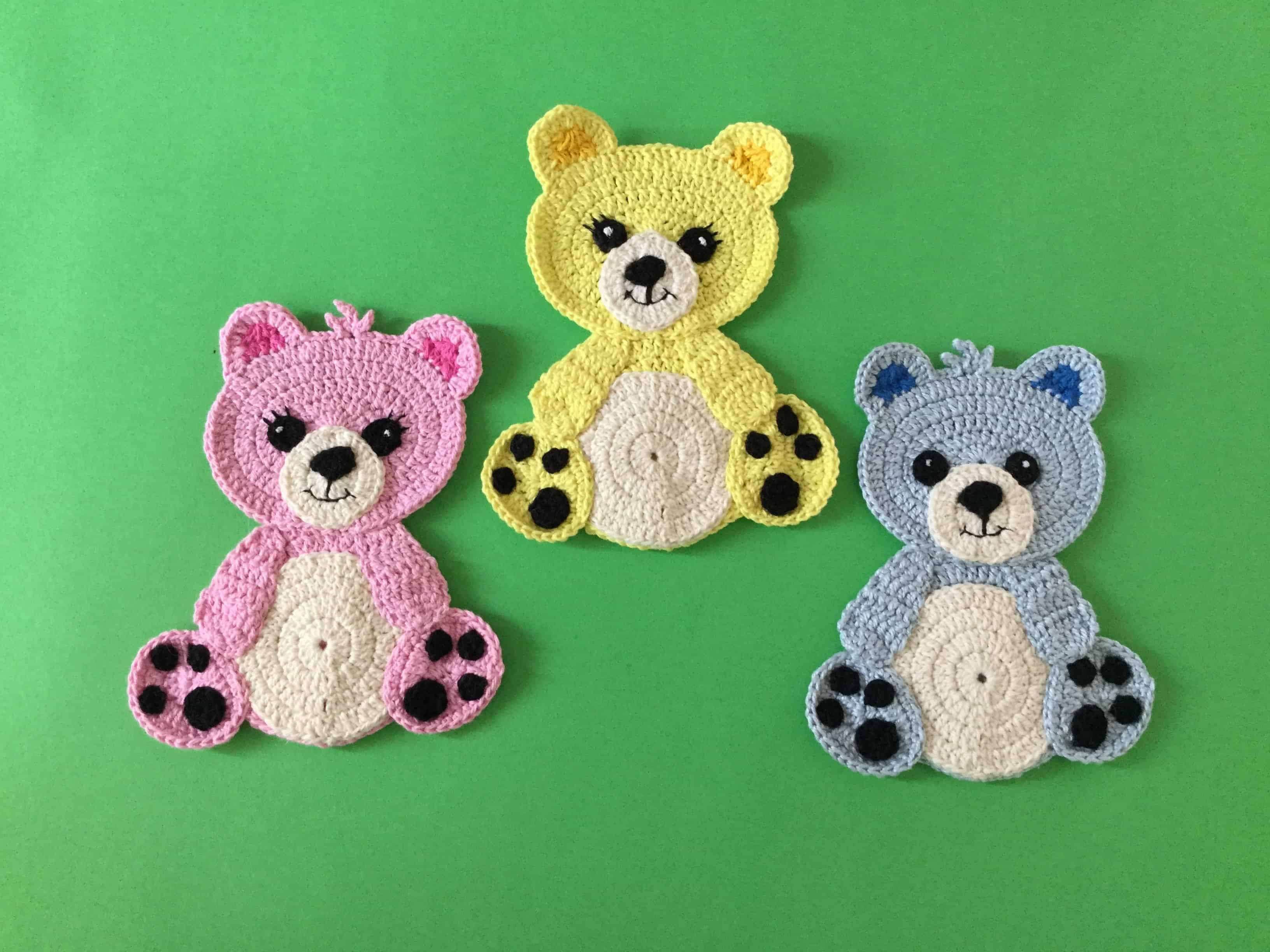 Free Teddy Bear crochet pattern - Amigurumi Today | 2448x3264