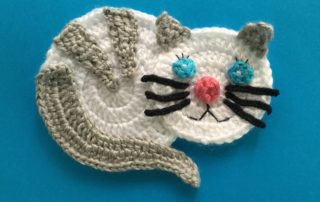 C is for Cat: Crochet Cat Applique - Repeat Crafter Me | 202x320