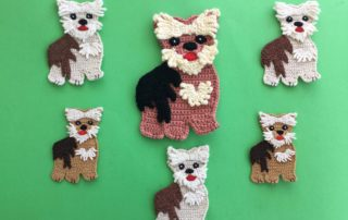 Free Crochet Yorkie Dog Patterns | The WHOot | 202x320